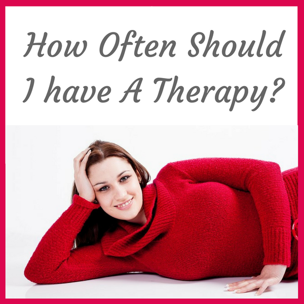 How often should I have a therapy?
