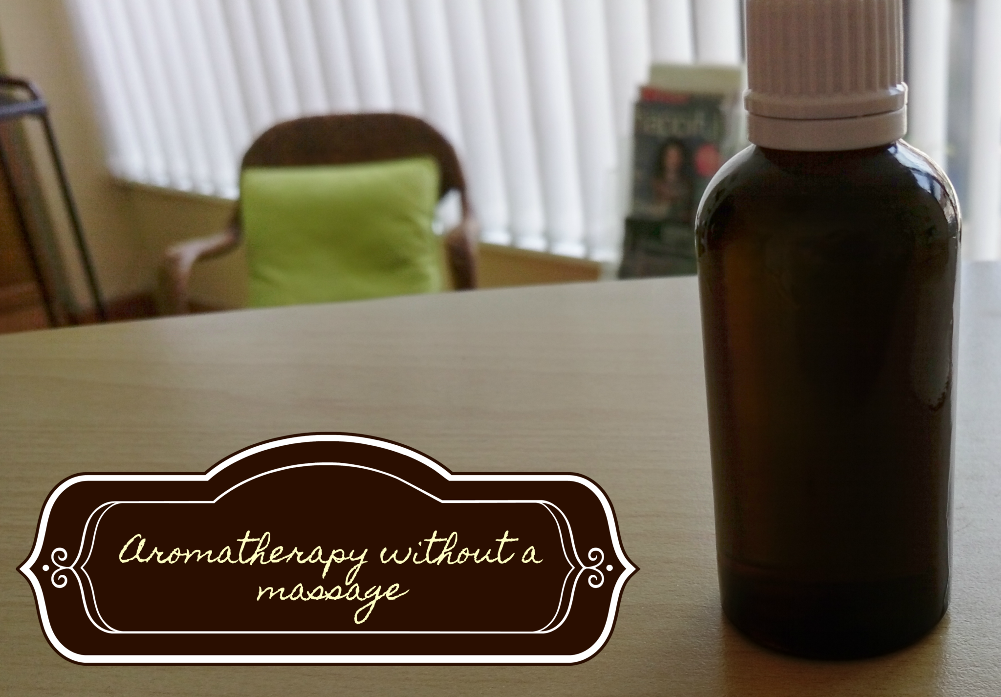 Aromatherapy without a massage