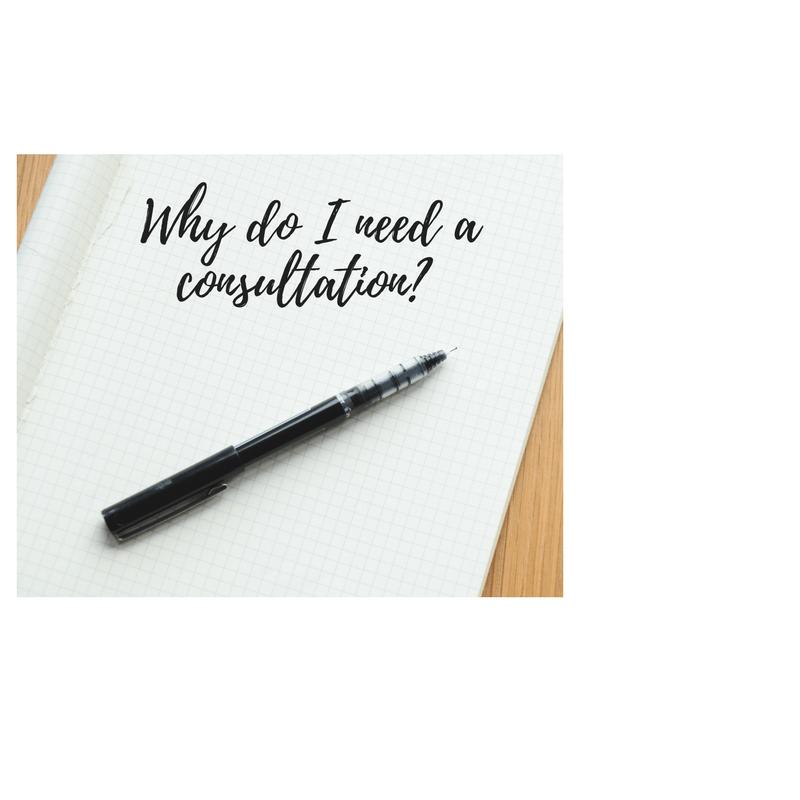 Why do I need a consultation?