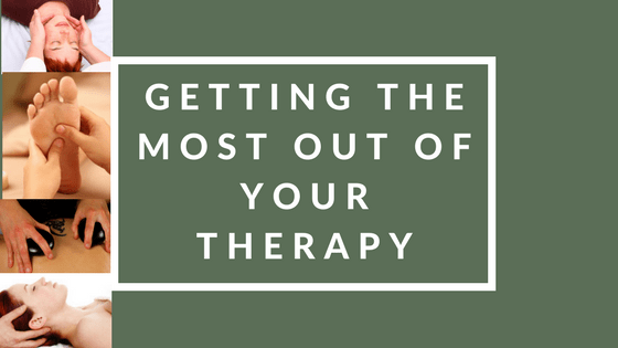 Getting the Most out of your Therapy