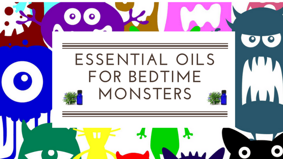 using essential oils for bedtime monsters