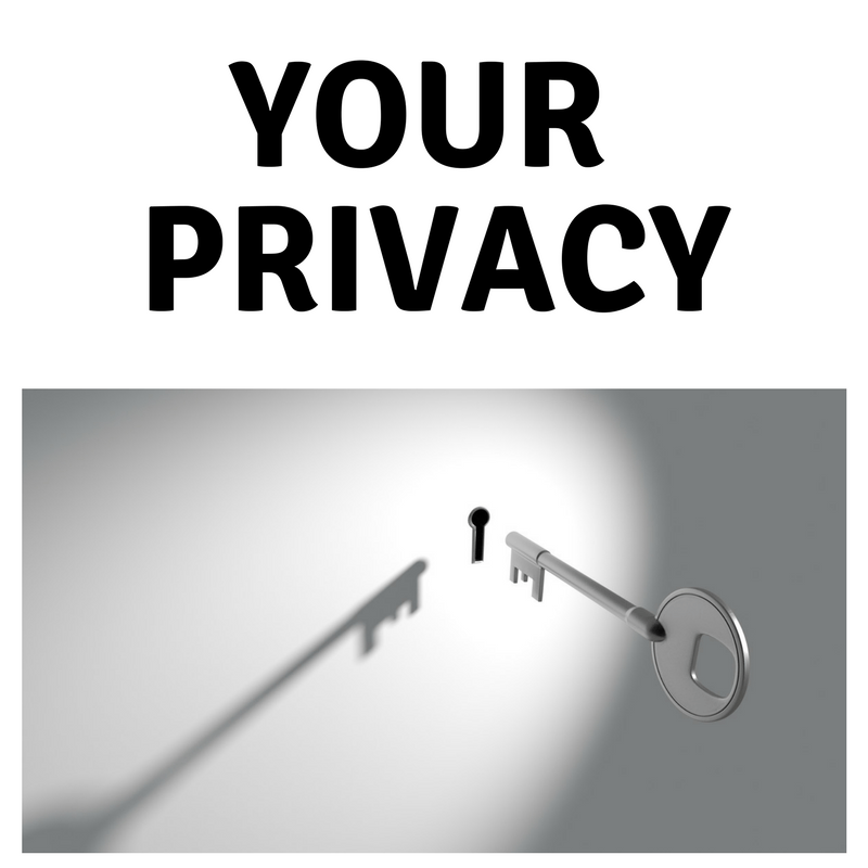 your privacy