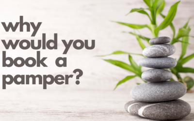 Why would you book a pamper?